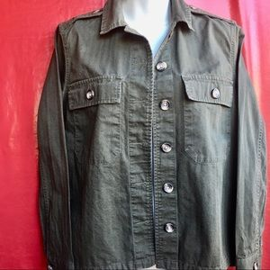 Forever 21 Olive Green Jacket Fall/Spring Size S